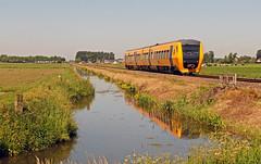 NSR 3439 Zwolle - Kampen line (peter.velthoen) Tags: nsr3439 nederland polder polderland kleuren zomer zwollekampen trein train zug railway railroad overijssel autoremovedfrom10to25faves