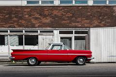 el camino   l   2017 (weddelbrooklyn) Tags: pickup rot elcamino chevy chevrolet 1959 oldtimer streetmagshow auto autos car cars red classiccars nikon d5200 hamburgerfotofreaks