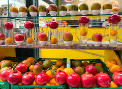 The Colorful Fruit of Corfu (clive_metcalfe) Tags: fruit corfu colour color
