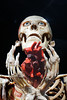 The Offering (Seeing Visions) Tags: 2017 unitedstates us california ca losangeles la expositionpark californiasciencecenter exhibitbodyworldspulse plastination humanremains gunthervonhagens skeleton skull eyes heart hands raymondfujioka
