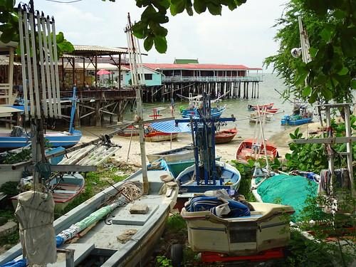 Harbor Scene - Hua Hin - Thailand