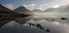 Wast Water Blue (paulypaulpaul1) Tags: wastwater mirrored sonynex6 panorama smcpentax28mmf35 blue dawn mist misty skafel mysterious mountans nex6 sunrise atmosphere cumbria lakedistrict netherwasdale wasdale reflection dynamic microsoftice calm calmness peace peaceful peacefulness tranquil tranquility still stillness flat ahhh