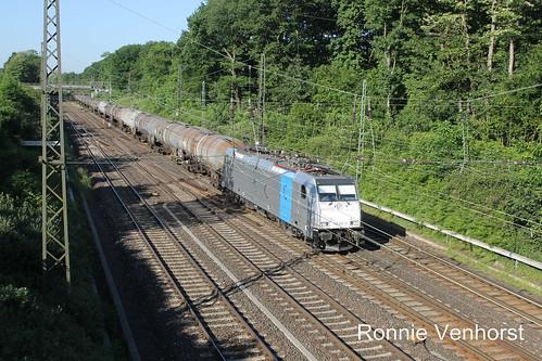 E-loc 186 297-8(Duisburg Lotharstrasse 26-5-2017)