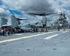 2017 Fleet Week - USS Kearsarge (LHD 3) Amphibious Assault Vessel, Hudson Pier 88, New York City (jag9889) Tags: 2017 2017fleetweek 2017fleetweeknewyork 20170527 aircraft airplane boat celebration clinton copter fleetweek flightdeck heli helicopter helikopter ingallsshipbuilding kearsarge lhd3 manhattan ny nyc newyork newyorkcity norfolkva outdoor pier88 seaservices ship terminal transportation uscoastguard usmarines usnavy usa usskearsarge unitedstates unitedstatesnavy unitedstatesofamerica vessel warship waspclassamphibiousassaultship jag9889