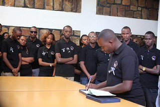 Kwibuka 23, AERG National Coordination Committee and Staff visited Nyarubuye Genocide Memorial Site | June 10, 2017