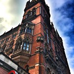 London  England ~ St. Pancras Renaissance London Hotel ~ Clock Tower thumbnail