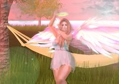 My Fairy Angel (hunnibear86) Tags: mooh summer fairy secondlife avatar bento wings catwa angel halo erotipose