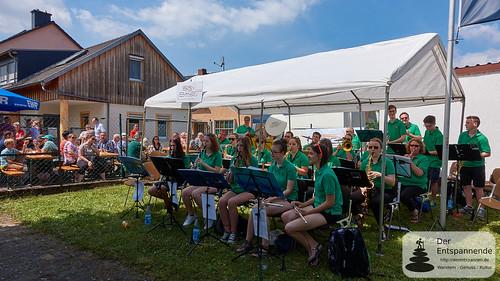 BigBand Selzen-Köngernheim beim Radwegefest Selzen 2017