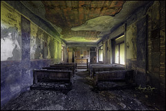 Until I Too Dissolve (Midnight - Digital) Tags: 2017 urbex abandoned ancient closed crusty chapel canon midnightdigital religious dilapidated urbanexploration europe decay decaying forgotten lost lostplace old verlaten verlassen trespassing wrecked oblivion forsaken collapsed collapsing architecture indoor hospital colors