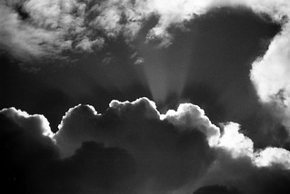 Every cloud..........