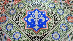Sainte-Chapelle, fleur-de-lis paving