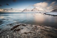 Iced beach (martinzorn) Tags: norway norge norwegen snow landscape winter cold travel europe lofoten