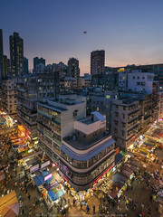 After sunset (mikemikecat) Tags: shamshuipo sony a7r twilight nightscape nightview night 夜景 mikemikecat nostalgia vintage house stacked structures people street scenery snapshot sonya7r fe1635mm sel1635z 建築 建築物 sunset cityscapes carlzeiss colorful