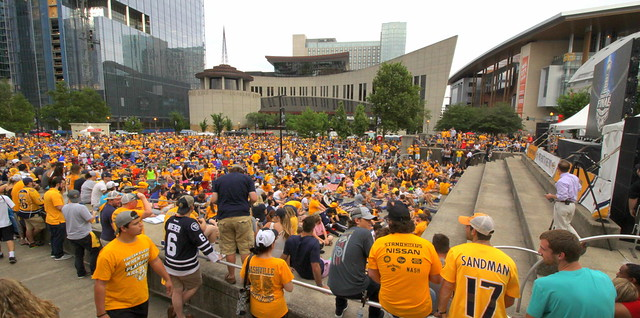 Preds Party in the Park 1