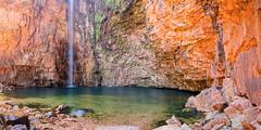 Emma Gorge (Louise Denton) Tags: elquestro emmagorge thekimberley waterfall cliffs escarpment kimberley australia outback gibbriverroad wa red