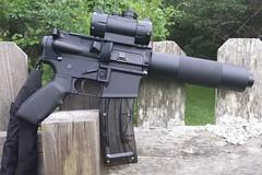 20170604_190231 (Slick_Rick77) Tags: cmmg anderson 22lr dedicated 22 ar22 45 barrel pistol sbr suppressor gm22 gemtech silencer