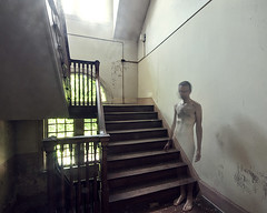 Ghost Again (///Brian Henry) Tags: abandoned hospital decay ghost self portrait