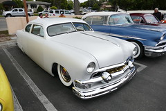 1951 Ford (bballchico) Tags: 1951 ford shoebox chopped custom carshow santamariainn