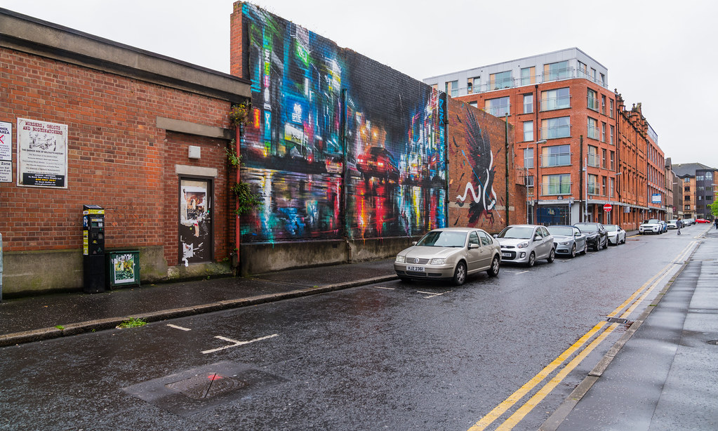 STREET ART AND GRAFFITI IN BELFAST [ANYTHING BUT THE FAMOUS MURALS]-129124