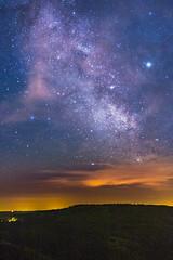 Milchstraße (Aufklatscher) Tags: milchstrase galaxie sterne milkyway galaxy stars nacht night astro schwarzwald blackforest mummelsee