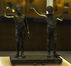 "Classical Delphi - Two Athletes. (egisto.sani) Tags: delfi museo ""greek art"" ""arte greca"" ""early classical period"" ""primo periodo arcaico"" ""early classical"" bronze bronzo statuette phocis focide delphi ""archaeological museum"" ""museo archeologico"""