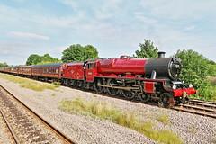 GALATEA JUBILEE CLASS 45699 BR (P.J.S. PHOTOGRAPHY) Tags: london midland scottish railway lms jubilee class no 5699 br 45699 galatea malton station steam special