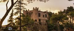 Castell de Biure (Jordi Castellà) Tags: gaia biure conca castell castle parish posta sunset transept