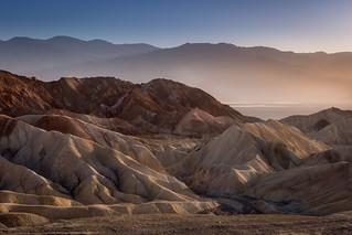 Zabrieskie point, Death Valley