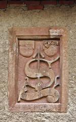COAT OF ARMS . STEPHAN VON KRUMAU . 1444 (LitterART) Tags: adriach pfarrhof vicarage stephanvonkrumau krumau pfarrherr pfarrer kirche montfort frohnleiten geschichte history steiermark österreich styria stephanvonkrumanu pastor priest gotisch gotik gotic