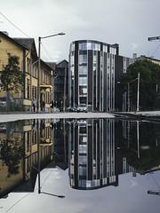 Kopli Street (Vaderism) Tags: kopli estonia eesti tallinn 2016 reflection peegeldus architecture kalamaja telliskivi