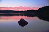 Calm Sunset (Daveyal_photostream) Tags: d600 nikon nikor nature dusk water landscape lake waterscape rock meandmygear mygearandme mycamerabag motion movement silhouette surene sunset river serene calm reflection