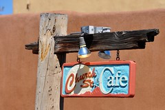 3-061 Church Street Cafe Sign (megatti) Tags: albuquerque churchstreetcafe desert newmexico nm oldtown restaurant sign