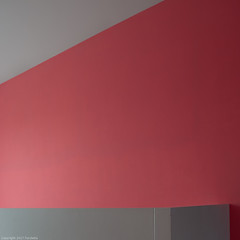 red & grey abstract (2) (Furcletta) Tags: red grey wall abstract ittingen switzerland che indoor architecture modernarchitecture 24mm35dpce nikond800 kartause geometry sidelight rrstqc14 rrsbh30 reallyrightstuff
