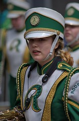 Highschool Marching Band (swong95765) Tags: female band music musician uniform marching parade girl roosevelt highschool