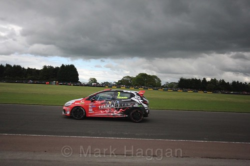 James Colburn in the Renault Clio Cup during the BTCC weekend at Croft, June 2017