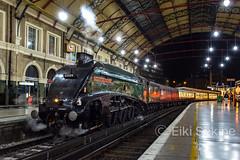Anticipated Return (Eiki Sekine) Tags: classa4 lner 60009 unionofsouthafrica vsoe privatecharter vic londonvictoria