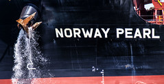Detail--Bulk Carrier Norway Pearl (PAJ880) Tags: detail bow norway pearl bulk carrier everett ma industrial ship freighter