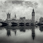 Westminster Bridge (Wet Plate) by Simon & His Camera thumbnail