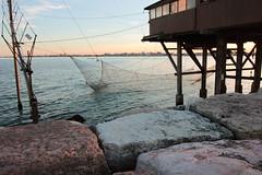 La pesca (paolotrapella) Tags: pesca trabucco mare acqua chioggia italia