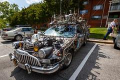Subwagon (Karol A Olson) Tags: may17 artcar art car folkart eccentric clarkbedford 6outofthisworld 117picturesin2017