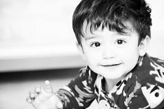 Isn't He lovely (Rod Anzaldua) Tags: bw bn black white kid portrait 7dwf