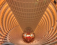 Amazing architecture (Alexandr Tikki) Tags: china shanghai wow amazing round yellow building architecture travel world