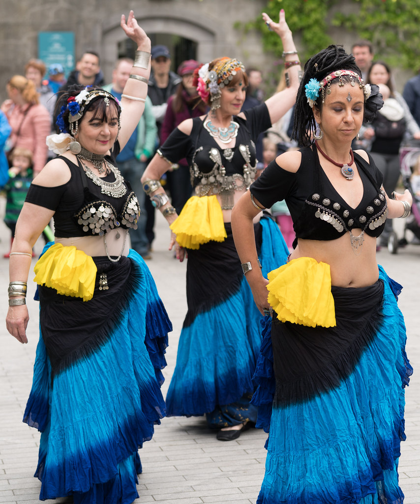 The Zoryanna Dance Troupe Tribal Belly Dancing [Africa Day 2017 Dublin]-129052