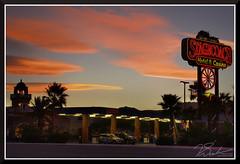 BeattyAtNight_7747d (bjarne.winkler) Tags: day10 photo foto safari sunset beatty nv stagecoach hotel casino aaa