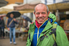 Q1008207 (sswee38823) Tags: rain rainy street streetportrait portrait portraits face smile man outdoor outdoors outside lucca luccaitaly italy tuscana tuscany daytime vacation people travel city noctiluxm50mmf095asph noctilux095 noctilux noc noctiluxm109550asph leicanoctiluxm50mmf095asph 50mm 50 095 f95 leica leicam leicamtype240 leicacamera photography photograph photo noctiluxm109550mmasph seansweeney leica50mmf95