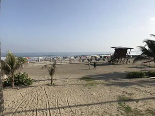 Playa Hollywood, Cartagena, Colômbia.