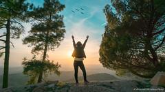 Sierra de Cazorla (montero_1989) Tags: freedom free air nature birds mountain sunset tree woman sun libertad aire libre naturaleza pajaros montañas anochecer arboles mujer sol sony a6000 gopro dji