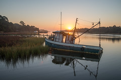 Heart Of The Sunrise (Todd Evans) Tags: nikon d610 tamron2875mm apalachicola florida fl sunrise