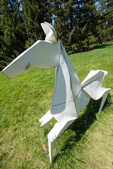 DSC_1497 (critter) Tags: origami mortonarboretum mortonarb kevin box cranes sculpture steel art