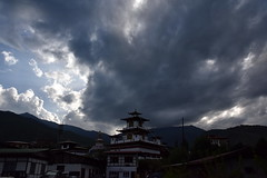 Evening Sky at Thimphu, Bhutan
